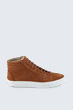 Hightop Sneaker in Cognac