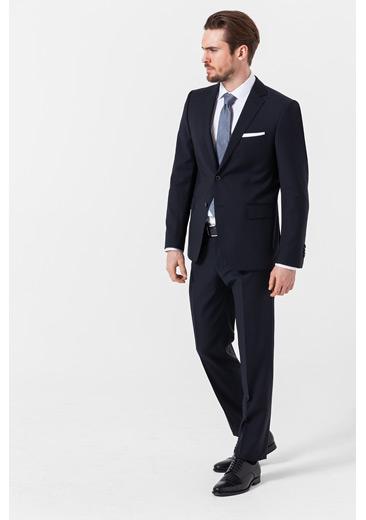 Baukasten-Anzug, marine