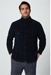 Cord-Overshirt Oliveri in Navy