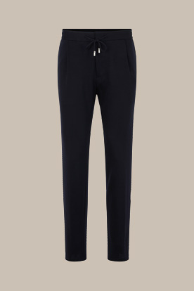 Travel-Jersey-Joggpants Fero in Navy