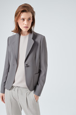 Blazer in Grau