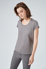 Shirt in Grau