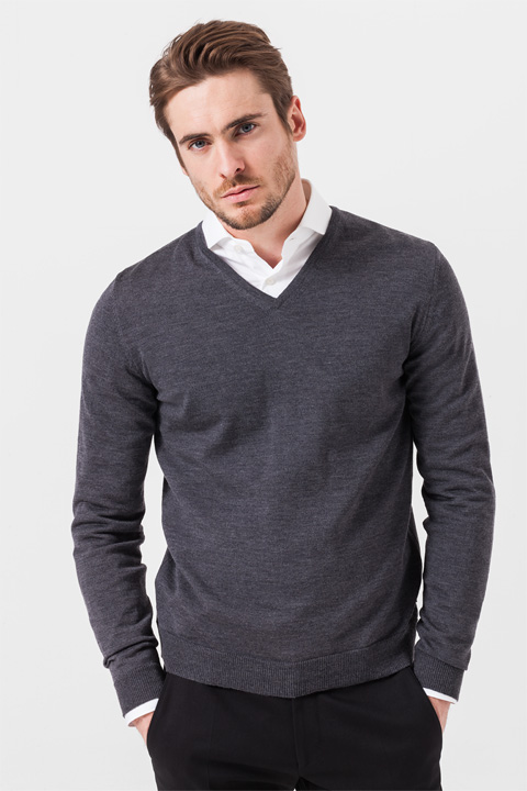 Pullover Marcello in Grau