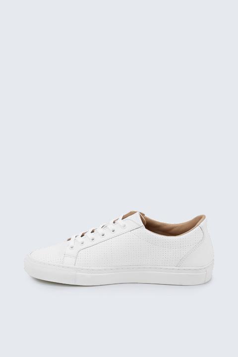 Sneaker mit Perforierung by Ludwig Reiter, unisex in Weiß