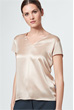 Blusen-Shirt in Beige