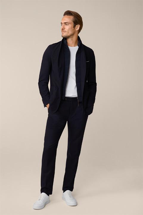 Modular Suit Triest Floro in Navy