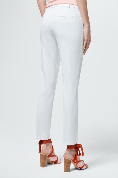 Chino in Weiß
