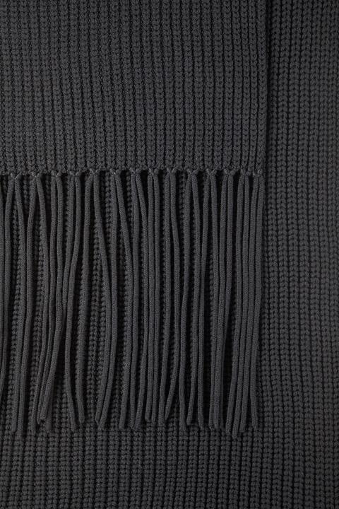 Schal in Schwarz