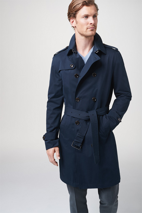 Trenchcoat Pado in Dunkelblau