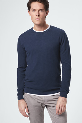 Pullover in Navy