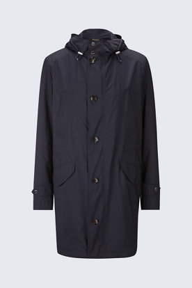 Travel-Parka Brando in Navy