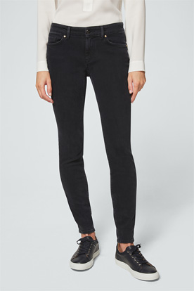 Jeans Slim-Fit Poppy in Schwarz