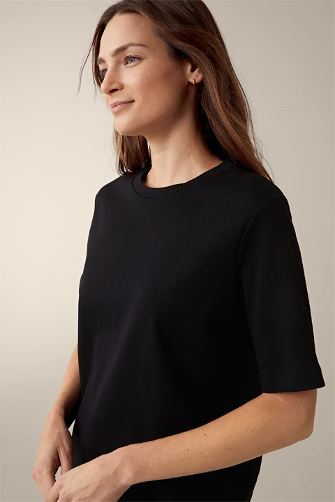 T-Shirt in Schwarz