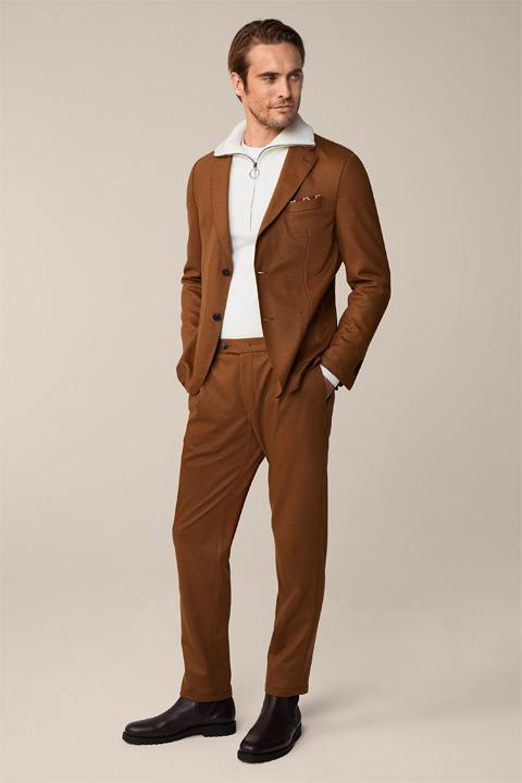 Vasto Floro Modular Suit in Camel