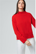 Cashmere-Pullover in Rot
