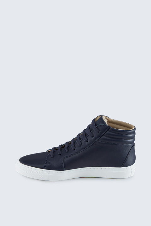 Hightop Sneaker by Ludwig Reiter in Navy