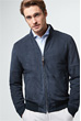 Lederjacke Borello in Navy
